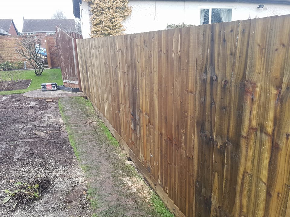 This Is The Same Fence Once Completing From The Opposing Side